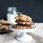 Honey Oatmeal Chocolate Chip Cookies