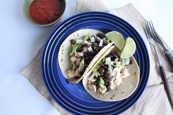 Tofu Tacos no guac | HipFoodieMom.com