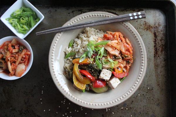 rice bowl with veggies full tray   HipFoodieMom.com