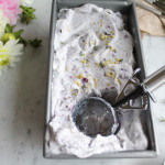 Blueberry, Lemon and Thyme Ice Cream