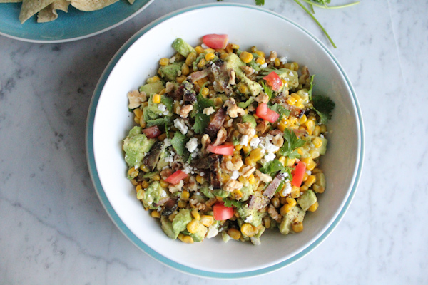 From Absolutely Avocados by Gaby Dalkin, avocado lovers will go crazy over this simple to throw together but delicious Bacon, Avocado and Corn Salad!
