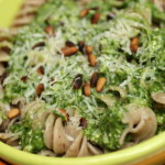 Guest Post: Spinach, Lemon and Pine Nut Pesto