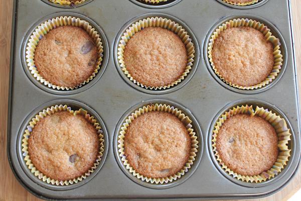 Gluten Free Chocolate Chip Muffins | HipFoodieMom.com