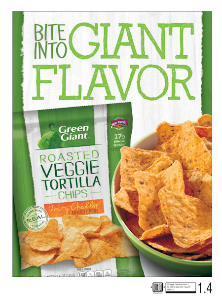 Green Giant Veggie Chips Key Visual 1-1