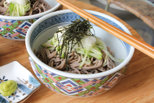 Japanese Zaru Soba! See how you can make these delicious buckwheat noodles at home!