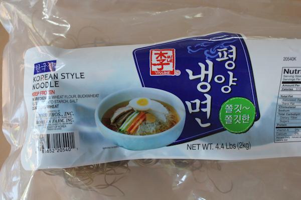 naeng myun noodles_package