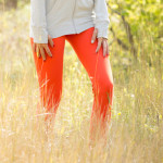 Giveaway: Go Long Leggings in Pumpkin from Albion Fit!!