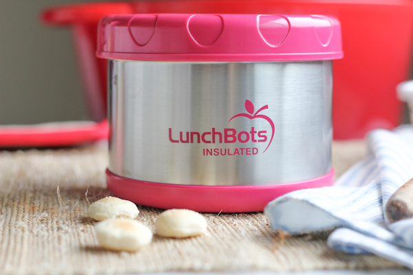 LunchBot Insulated with lid | HipFoodieMom.com