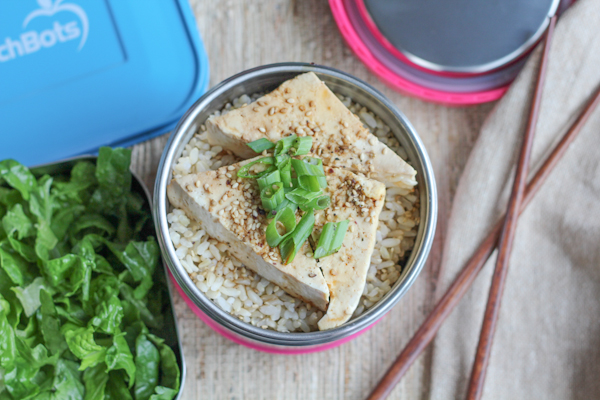 Rice and Tofu | HipFoodieMom.com