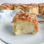 Almond Brioche Sticky Buns for #SundaySupper