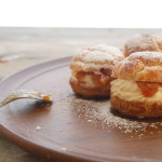 Guest Post: Cream Puffs with Caramelized Apples From Sweet-Lab