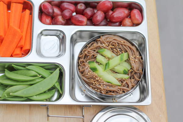 Soba Noodles in PlanetBox | HipFoodieMom.com