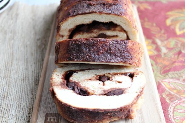 Cinnamon Chocolate Swirl Bread_upclose2 | HipFoodieMom.com