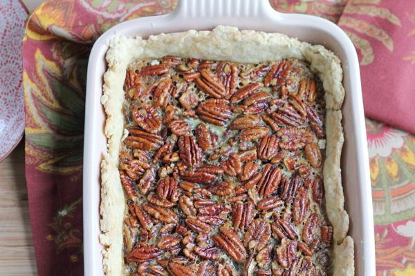 Pecan Pie Tart   HipFoodieMom.com