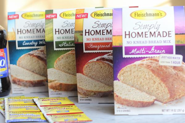 Simply Homemade No Knead Bread Mixes