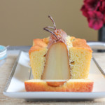 Poached Pear Bread for #SundaySupper