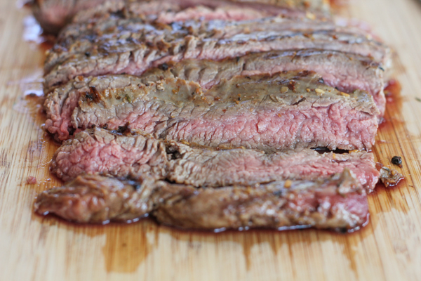 Sliced Flank Steak | HipFoodieMom.com