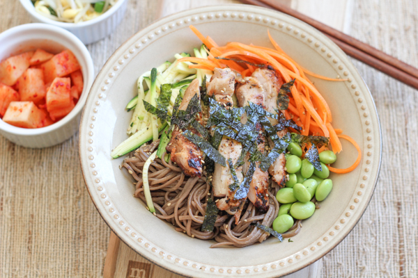 Soba Noodles with Chicken2 | HipFoodieMom.com