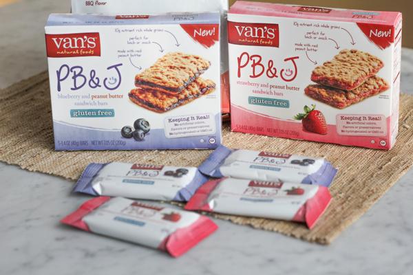 vans natural foods PBandJ