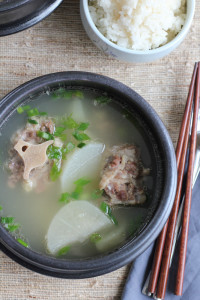 bowl of oxtail soup
