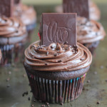 Triple Chocolate Raspberry Cupcakes
