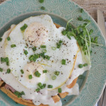 Croque Madame Waffle for #BrunchWeek