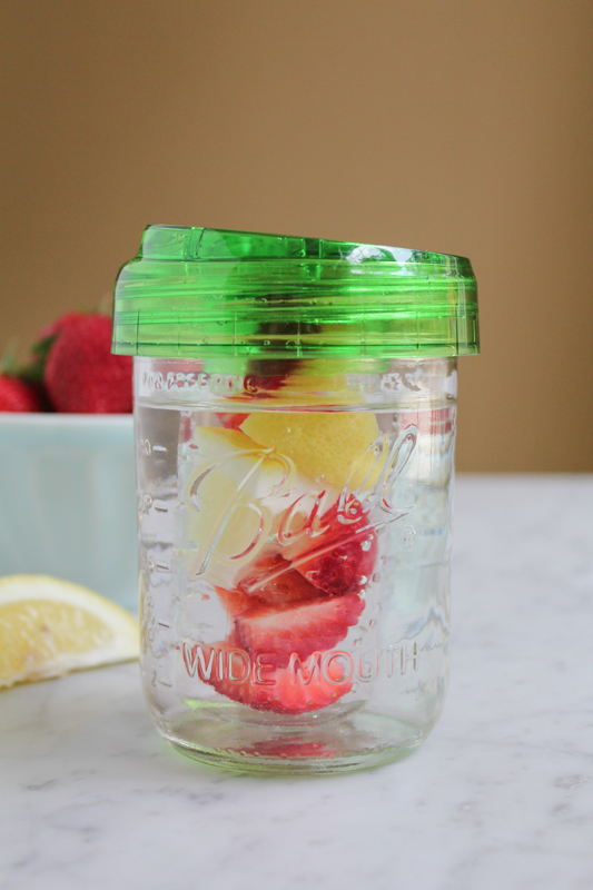 Ball Mason Jar Wide Mouth with Infuser