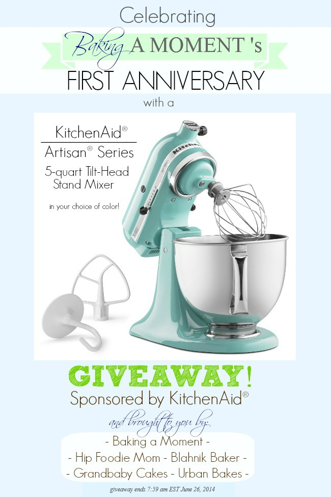 Corrected KitchenAid Giveaway
