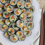 Entertaining with Kimbap and Tips on How to Make Your Own Rolls! + VIDEO