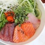Korean Mixed Rice with Sashimi
