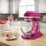 Raspberry Ice KitchenAid Stand Mixer GIVEAWAY for #CookfortheCure
