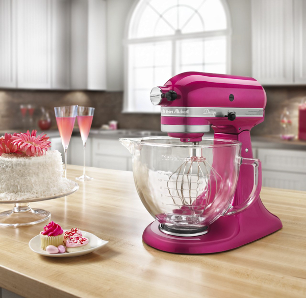 KitchenAid Raspberry Stand Mixer Cook for the Cure