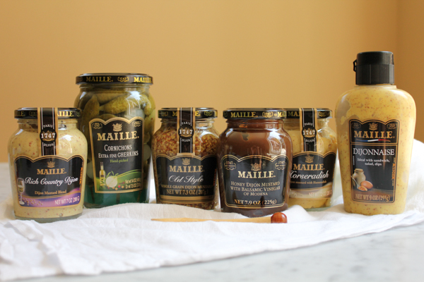 Maille Product Giveaway hosted by Hip Foodie Mom