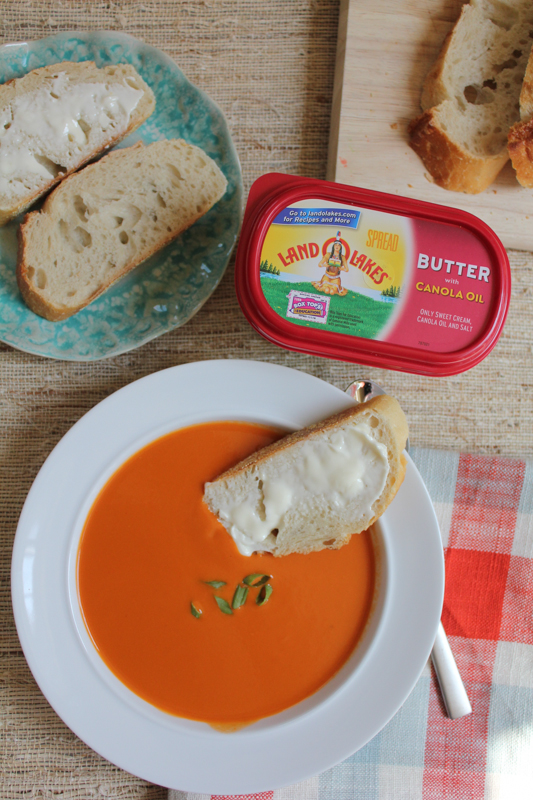 Soup with Baguette