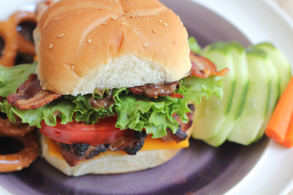 The Ultimate Chicken Sandwich with Honey Dijon Mustard with Balsamic Vinegar by Hip Foodie Mom