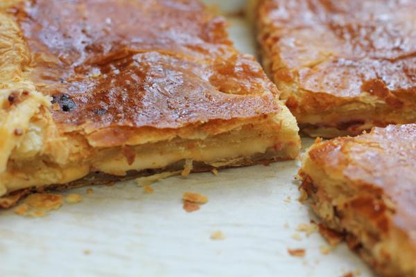 Baked Ham and Cheese Tart