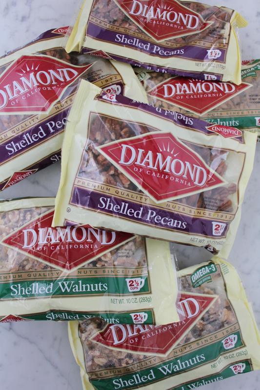 Diamond of California Pecans and Walnuts