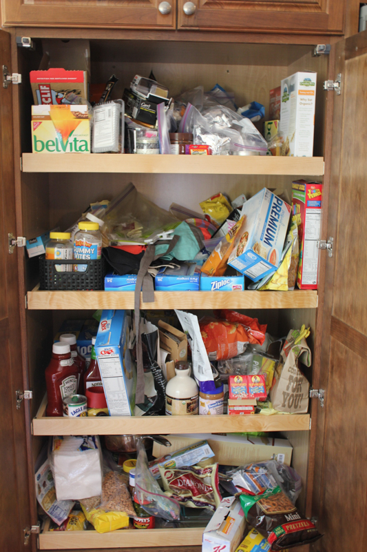 My Pantry_before