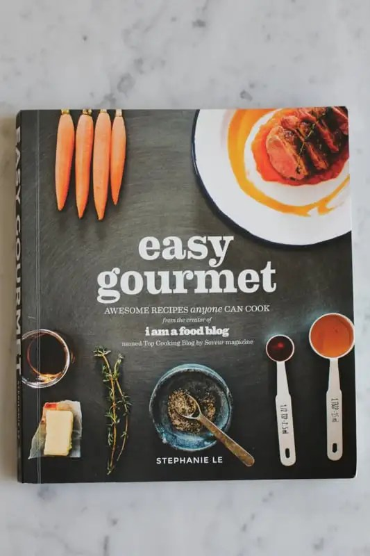 Easy Gourmet cookbook with Seafood Pappardelle recipe.