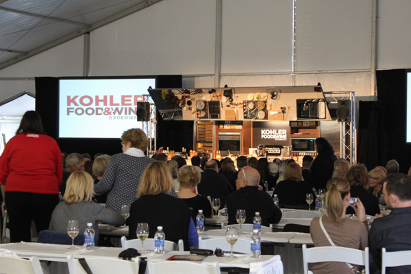 Kohler Food and Wine Main Stage