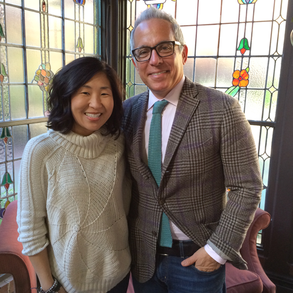 Me and Geoffrey Zakarian