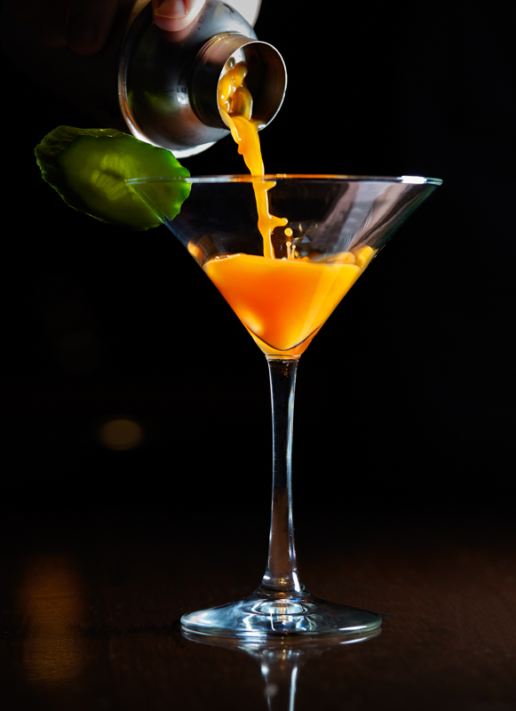 The American Club's Carrot 43 Martini