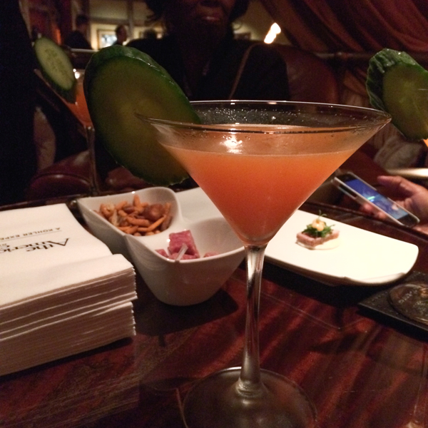 The Carrot 43 Martini