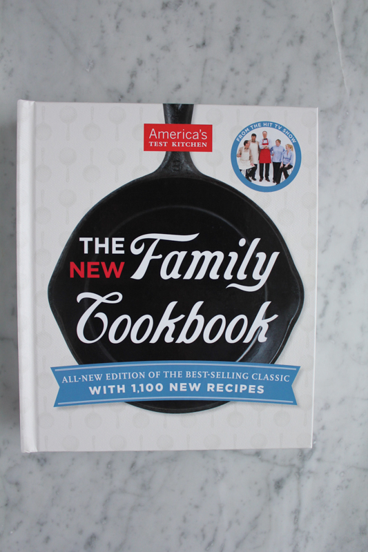 The New Family Cookbook from America's Test Kitchen . . plus a giveaway!