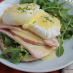 Eggs Benedict with a Blender Hollandaise Sauce