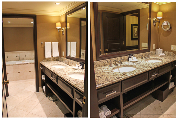 side by side bathroom