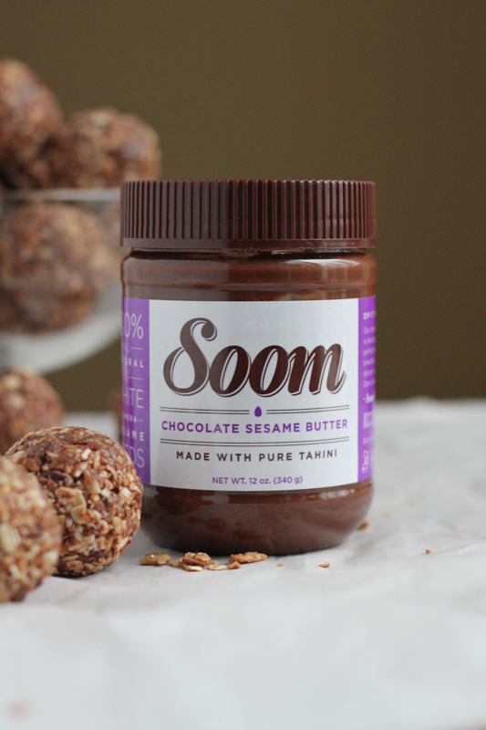 Soom Chocolate Sesame Butter #giveaway