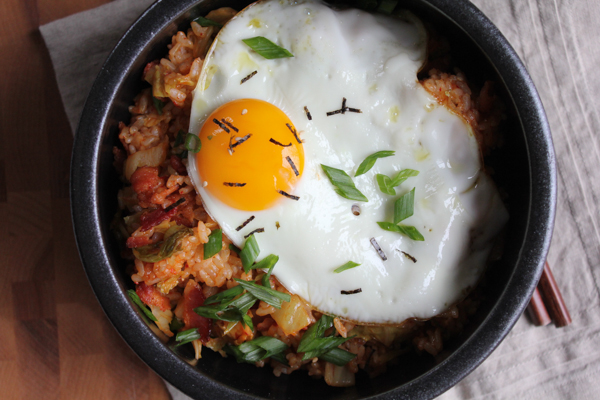 How To Make Kimchi Fried Rice bowls
