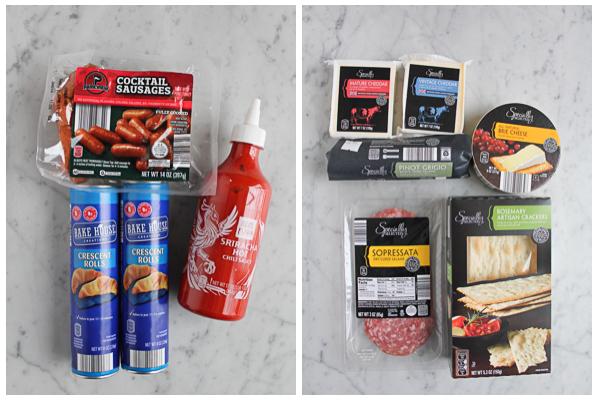 ALDI ingredients for Super Bowl