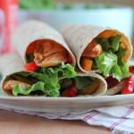 Sesame Chicken Wraps for #WeekdaySupper #McSkilletSauce